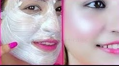 تبييض الوجه والرقبة في دقائق. كيفية تبييض الوجه والرقبة بأبسط المكونات